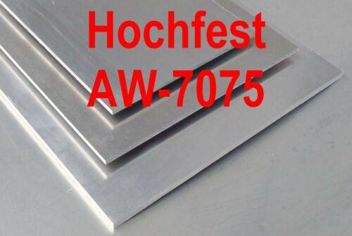 Alu 68,-€//lfm Aluminium Platte 360x270x6mm hochfest 7075 Zuschnitt AlZnMgCu1,5