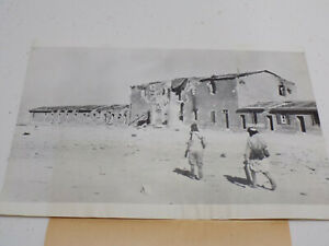 Original-1940-WWII-Press-Foto-Italiano-Colonial-Tropas-Capture-Sidi-Barrani