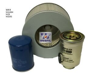 WESFIL-for-TOYOTA-HILUX-LN147-167-172-1997-1999-AIR-OIL-FUEL-FILTER-SERVICE-KIT