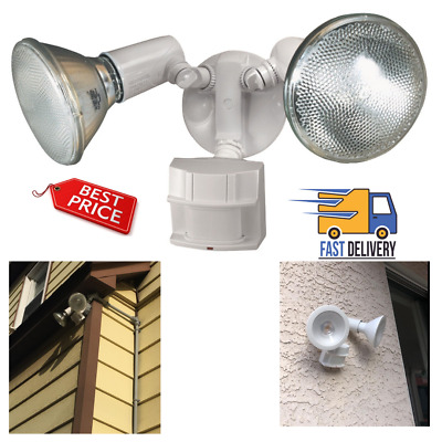 MOTION SENSOR FLOOD LIGHT 120W Indoor Outdoor Dual Yard Lamp LED Security Lights