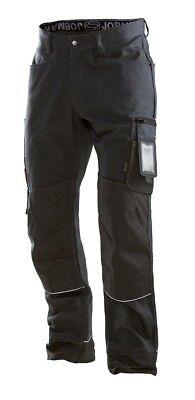 NEW Quality JOBMAN 2921  WORK Long Trousers CARGO TOUGH POCKETS GREY// BLACK