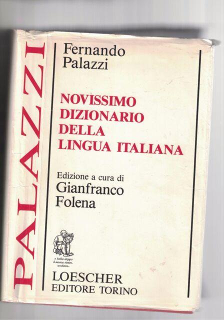 NOVISSIMO DIZIONARIO DELLA LINGUA ITALIANA - F.PALAZZI - 1986