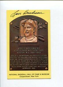 Lou-Boudreau-Cleveland-Indians-1948-WS-Champ-HOF-Signed-Autograph-Postcard-Photo