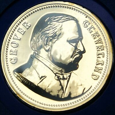 """Grover Cleveland Presidential Medal From The """"hail To The Chiefs"""" Collection Less Expensive Coins & Paper Money"""