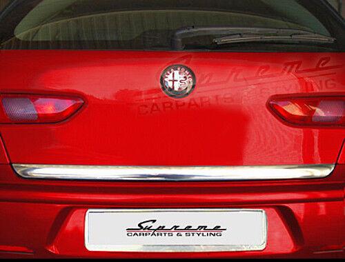Alfa Romeo 156 SW Typ 932 Chrom Zierleiste 3M Tuning Heckleiste BREIT
