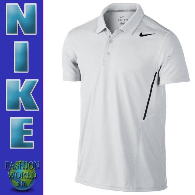 10f4e7bb NWT Nike Men's Dri-Fit Dry Court Team Polo Tennis Shirt Size M Black ...