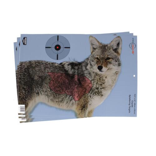 3 cibles 35405 Birchwood Casey Pregame Coyote 16.5 x 24 TGT