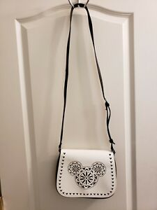 af27d391c3 Image is loading Vera-Bradley-Disney-Laser-Cut-Mickey-Mouse-White-