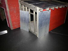 CORRUGATED ROOFING 1:24 1:25 & G & O SCALE MODEL DIORAMA &  RAILROAD