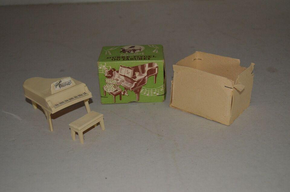 Dukkehus-møbler, Flygel og taburet