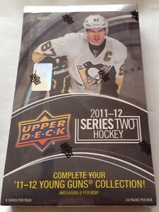 2011-12-Upper-Deck-Hockey-Series-2-HOBBY-Box-Young-Gun-Auto-Rookie-Patch-Jersey