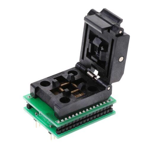 TQFP32 QFP32 TO DIP32 IC Programmer Adapter Chip SA663 Test Socket Burning Seat