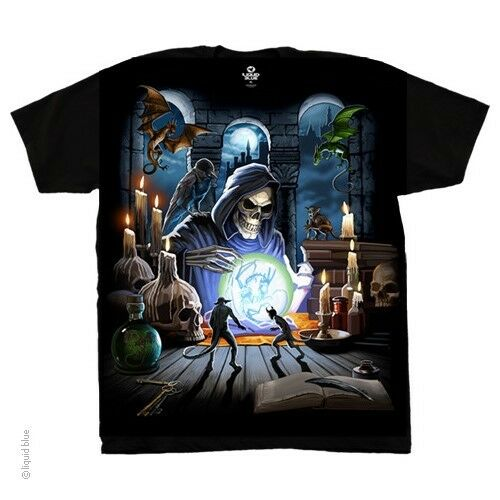New GRIM REAPER SPELL T Shirt
