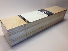 BALSA WOOD Bundle GIGANTE 2 X 450mm L X 100MM W x 100mm h-mixed Taglie tracciate POST