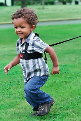 CLIPPASAFE ADJUSTABLE BOYS Safety Black Walking Harness /& Reins,6 m TO 4 YEARS