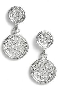NWT-ANNA-BECK-GILI-STERLING-SILVER-DOUBLET-DISK-DROP-EARRINGS-1-LENGTH