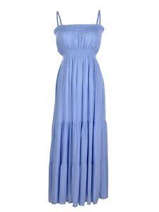 Summer-Women-Cotton-Adjustable-Evening-Party-Long-Maxi-Beach-Beach-Vest-Dress