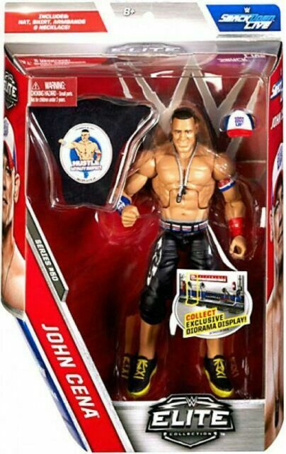 WWE John Cena Action Figure Elite 50 Mattel Toy NEW