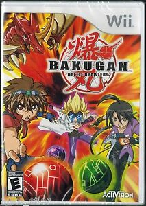 Bakugan-Battle-Brawlers-Wii-2009-Factory-Sealed