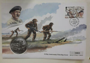 Isle-of-Man-Coin-D-Day-First-Day-Cover-Field-Marshal-Montgomery-1-Crown