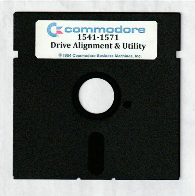 Commodore 64 128 1541 1571 Alignment Program Disk