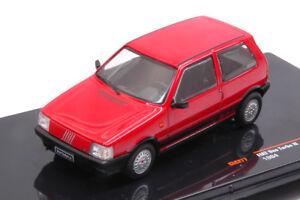 Fiat-Uno-Turbo-Ie-1984-Red-1-43-Model-CLC277-CLC277-IXO-MODEL
