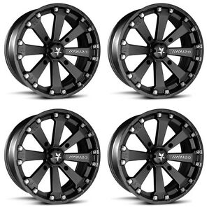 4-ATV-UTV-Wheels-Set-14in-MSA-M20-Kore-Black-4-156-0mm-POL