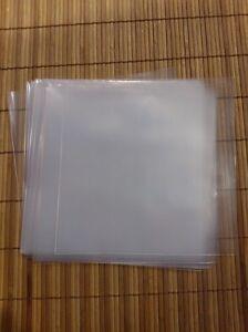 45's PLASTIC  COVERS - PACK 50 - FUNDAS DE PLASTICO PARA SINGLES MAXIMA CALIDAD
