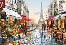 NEW! Castorland Flower Shop 1500 piece street scene jigsaw puzzle