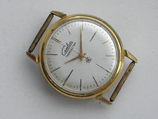 RARITY SOVIET SLAVA TRANSISTOR 2937 TUNING FORK WATCH MADE ACCUTRON 21 NOT WORK