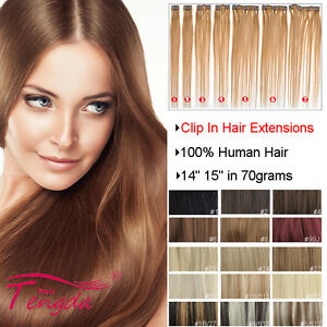clip in human hair extensions 100 real human hair 14 15
