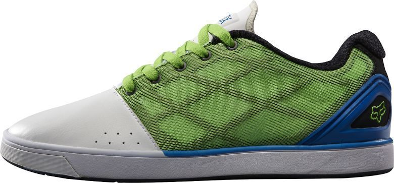 FOX Racing 05616-076 MOTION VARIAL Mn's (M) White/Green Synthetic Casual Shoes Scarpe classiche da uomo