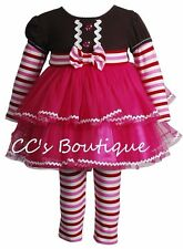 Girls YOUNGLAND gingerbread dress leggings 18M NWT Christmas outfit 12-18-24 set