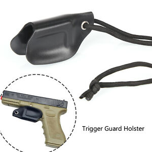 Trigger Guard IWB Holster Sheath with Paracord Fits 9mm .40 and .357 Glocks