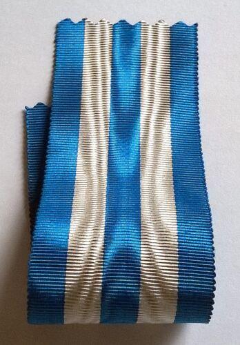 Ancien ruban 14 cm x 37 mm pour la croix du mérite de guerre 14//18. ITALIE