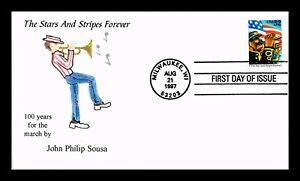 DR-JIM-STAMPS-US-STARS-STRIPES-FOREVER-HAND-COLORED-FIRST-DAY-COVER