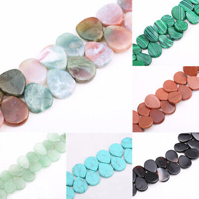 Free Shipping 1String of 15/'/' 6x9mm Natural Indian Water Agate Drop Stone Beads Water Drop Shaped Loose Beads E467