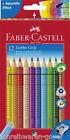 Lápices de colores Jumbo Grip 12 x Estuche de cartoncillo 110912