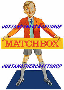 Matchbox-Toys-1960-039-s-Shop-Display-Sign-A3-Large-Size-Poster-Advert-Leaflet