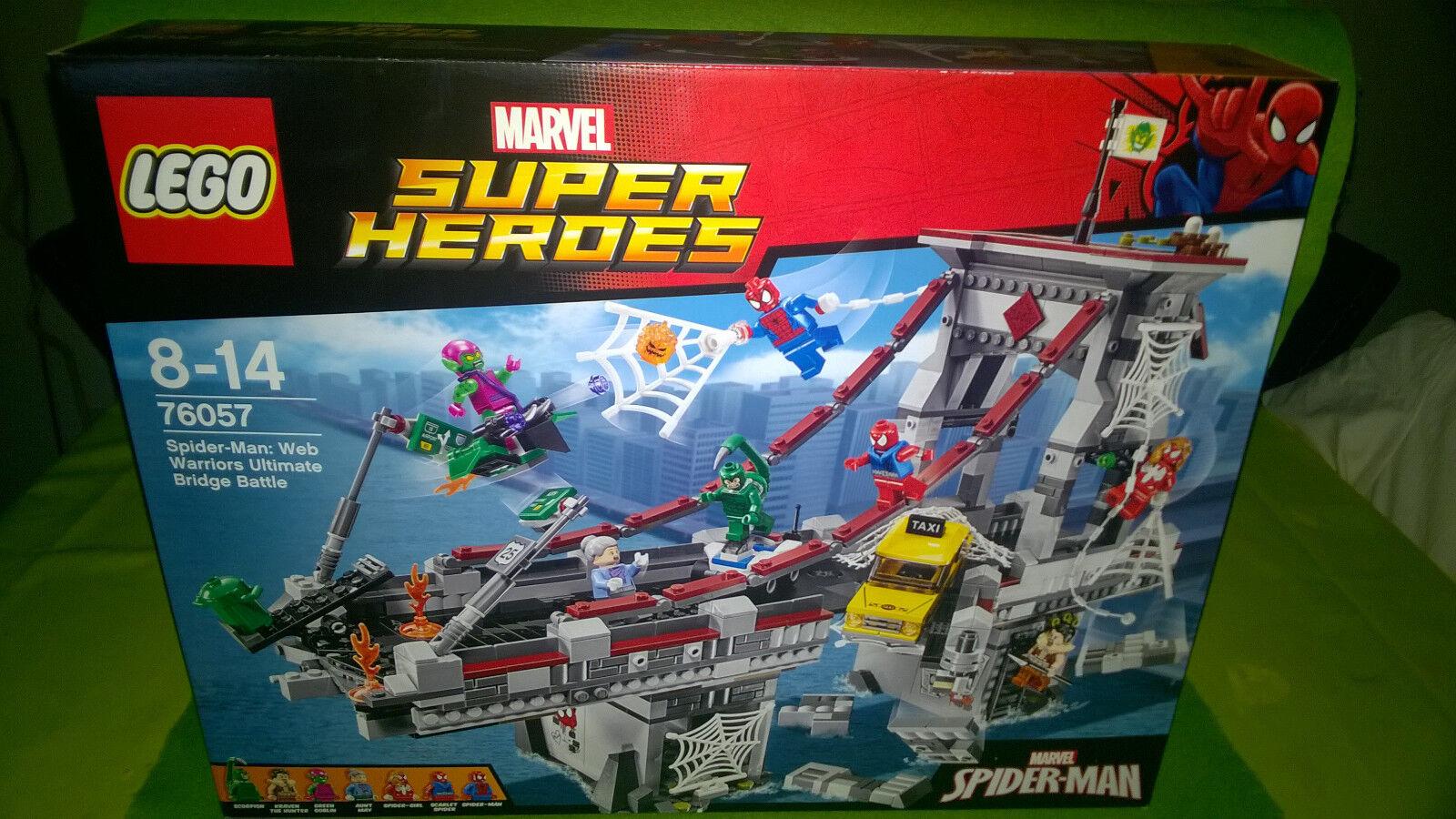 Lego 76057 Marvel Super Heroes Spider-Man  Web Warriors Ultimate battle Bridge
