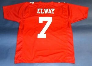 pretty nice 8877f 8f659 Details about JOHN ELWAY CUSTOM STANFORD CARDINAL JERSEY