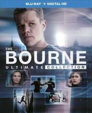 The Bourne Ultimate Collection (Blu-ray Disc, 2016, 5-Disc Set)