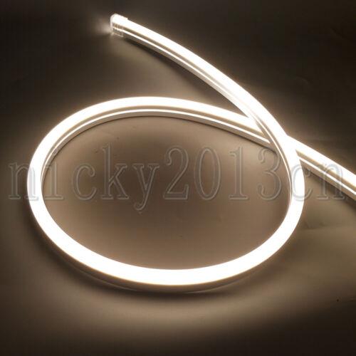 12V 2835 LED Flex Neon Tube Strip Light Rope Silica Gel KTV Boat Bar Decor Sign