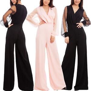 Overall-donna-tuta-intera-elegante-cerimonia-maniche-velate-sexy-TOOCOOL-WD-3308