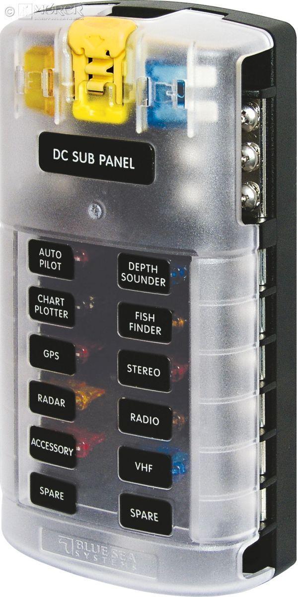 Blau SEA - Sicherungskasten - - Sicherungskasten 12 Stromkreise u. Masse 1aefdc