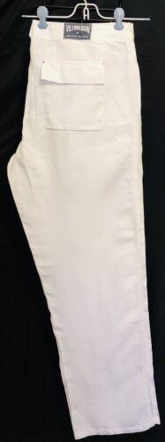 VILEBREQUIN MAILLOT DE BAIN 100% LINEN WHITE PANTS