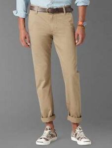 Dockers Alpha Khaki Slim-Fit Flat-Front Tapered Leg Pants NWT 100 ...