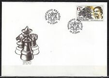 CZECH REPUBLIK  1996 FDC SC# 2979 Vera Mencikova - Chess Player