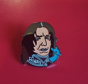 Harry-Potter-Pin-Professor-Snape-Pin-Enamel-Retro-Metal-Brooch-Badge-Lapel