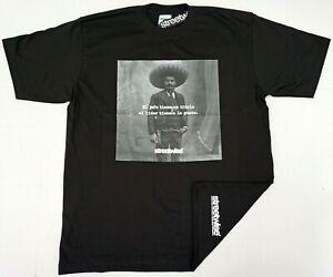 STREETWISE-ZAPATA-T-shirt-Urban-Streetwear-Tee-Mens-L-4XL-Black-NWT
